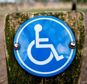 Disabled parking sign - disabled access consultancy