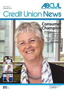 Credit Union News front cover