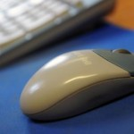 Photo of computer mouse