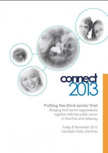 Photo of Connect2013 programme brochure