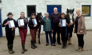 Volunteers and their certificates