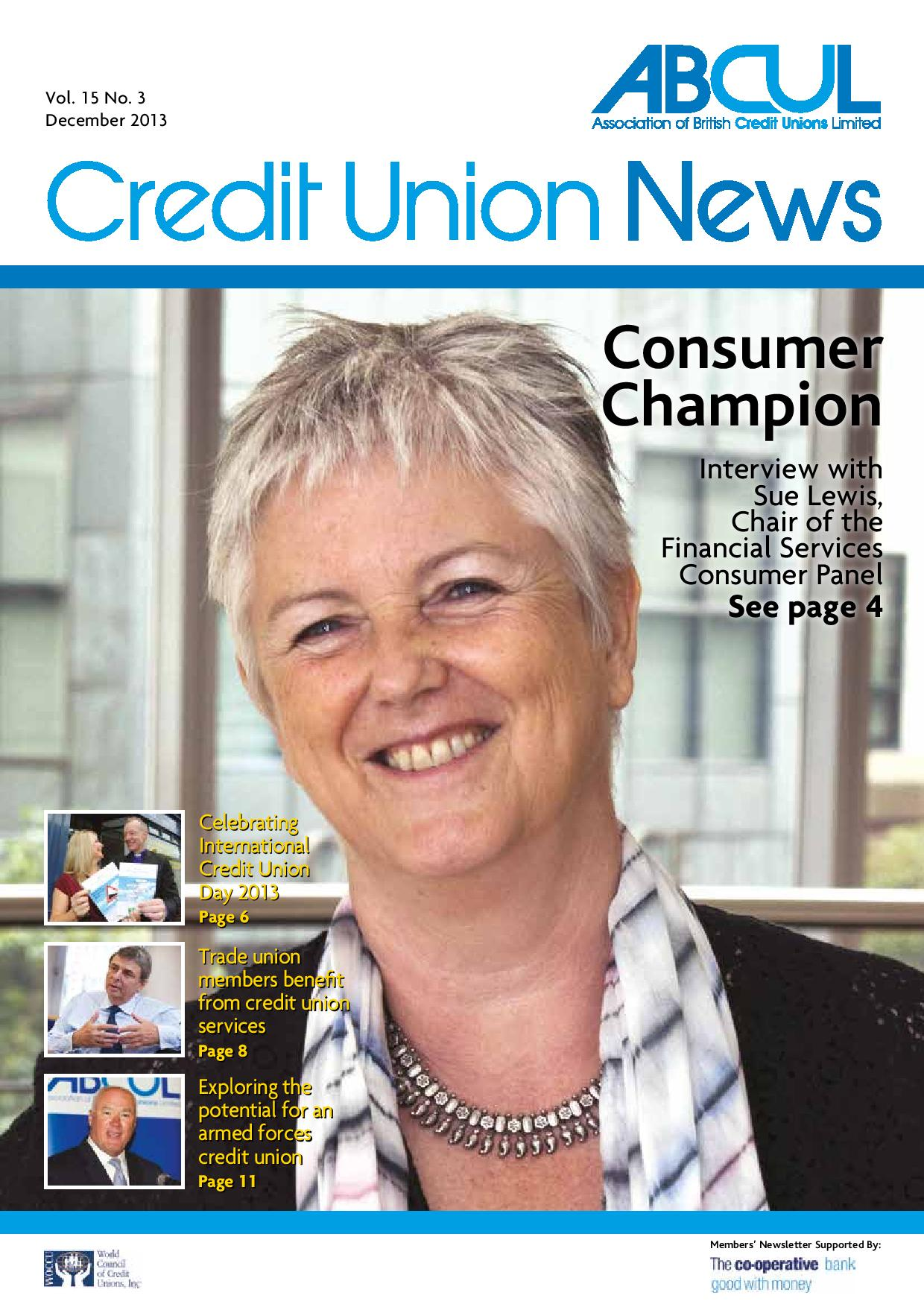 Credit Union News - December 2013